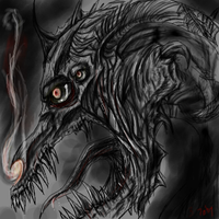 Oe: Another Zombie Dragon by Tobizord