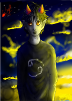Yes it's Karkat by TheHomicidalPigeon