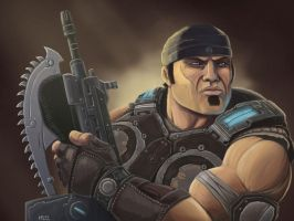 Marcus Fenix - Gears of War by mylesmw