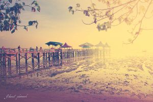 Morning at Kenjeran Beach by jd-photowork