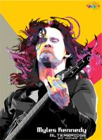 myles kennedy in WPAP indones by Yusuf-Graphicoholic