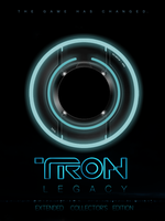 TRON: Legacy DVD Cover by violentmonsters