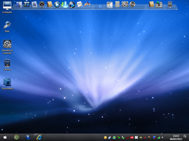 Mac Blue Icon Pack Installer Mixed X86 by Realyst