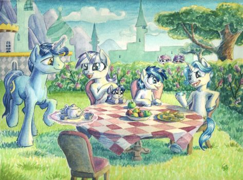 Afternoon Tea by The-Wizard-of-Art