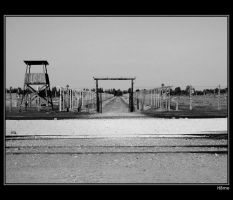 Gate at Birkenau by H8me-CZ