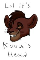 Hurrr it's Kovu by Jennilah