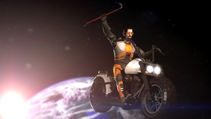 Ivan The Space Biker by d0ntst0pme
