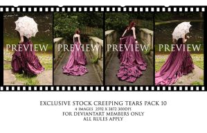 Creeping Tears pack 10 by Elandria