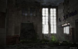 abandoned entrance hall by Linolafett
