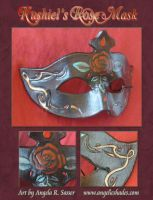 Kushiel's Rose Mask by Angelic-Artisan