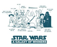 Star Wars Whiners by littlereddog