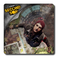 Infamous Second Son icon by dejuanito