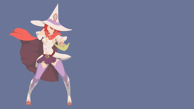 [Min-Vect] Little Witch Academia - Shiny Chariot by Hespen