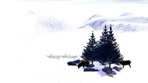 Happy Holidays by sed