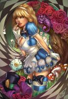 Alice in Wonderland, S. Giardina by sinhalite
