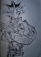 Yugi sketch by RedKronos92