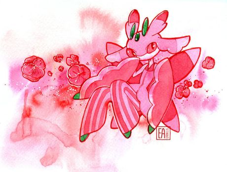 Lurantis by EaChronicles