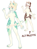 | $15 Anthro Adopt - OPEN | by NadopT