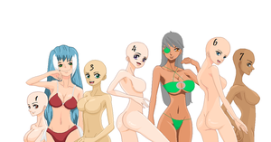 One Piece OC'S Sexy Bathingsuit Collab by TaintedOneNinja