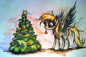 Derpy Christmas by Tomek2289