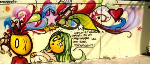 graffiti pensamentos final by tintanaveia