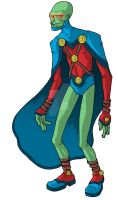 Martian Manhunter Redesign by superleezard