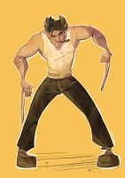 Dad Wolverine by GPinos