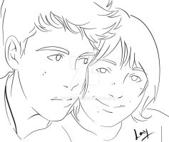 Me and Guil by laychuuu