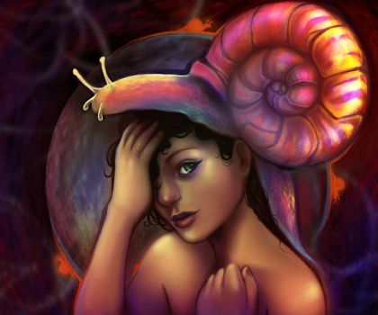 Snail: Revisited by Of-Red-And-Blue