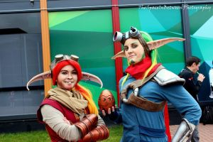 Jak and Daxter cosplay by WolfLinkByDarkEco