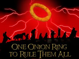 Lord of the Onion Rings by gothangell