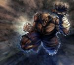 Sagat by Gold-copper