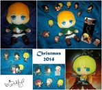 My christmas gifts 2014 by Isi-Daddy