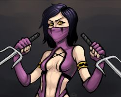 Mileena by AtomicRay
