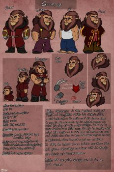 TOG-Grumpy profile sheet by missuny
