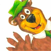 Yogi Bear by Hognatius