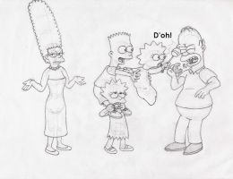 The Simpsons - Baby Bonk by Yeldarb86