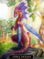 Fairy Dragon by Wings-Of-Fantasy
