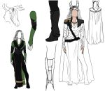 Lady Loki Designs by MelodicMadness