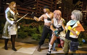 FFXIII Group by AuroraMaryte