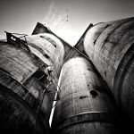 Factory chimneys by anoxado