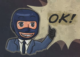 TF2 - Spy is happy. by Akatears