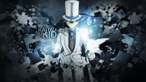 Kaito Kid Wallpaper by Redeye27
