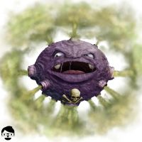 #109 - Koffing by samfruc