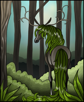 Forest Deer by Syeiraxx