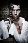 Jonathan-Rhys-Meyers as Dracula by SamBriggs
