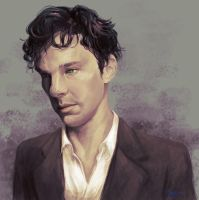 Benedict Cumberbatch - Sherlock by GuppyBlue