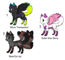 Kitsune Adopts - Adopted by Feralx1