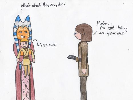 Come On Ani, Look At Him. by DarthBloodOrange