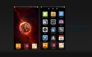 Bada Glass theme ver.0.0.1 by raquka06